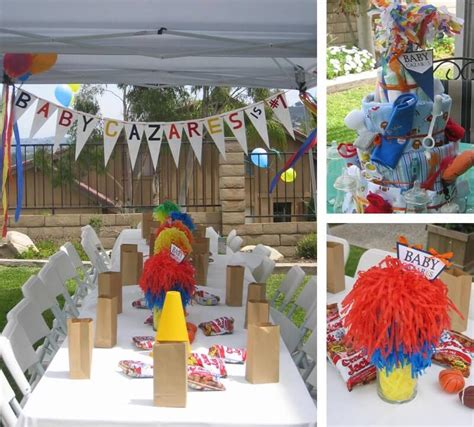 sports themed baby shower ideas baby shower ideas