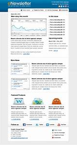 email newsletter template by xstortionist on deviantart With newsletter templates for outlook
