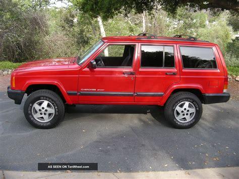 sports jeep cherokee 1999 jeep cherokee sport sport utility 4 door 4 0l