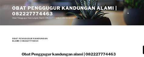 Pil Penggugur Janin Jakarta Jual Obat Aborsi Terbaik 082227774463