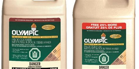 olympic premium deck cleaner   olympic