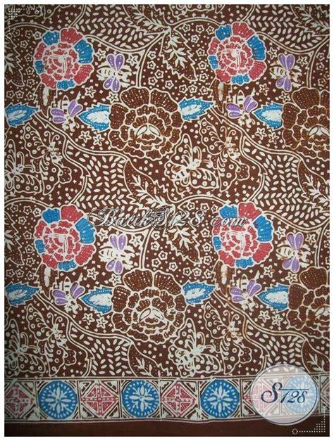 kain batik cap kombinasi colet dari pusat batik di