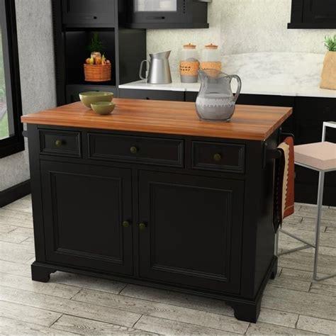 shop   hamilton black kitchen island  drop
