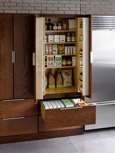 Utility Cabinet with Pantry Kit Option   Traditional