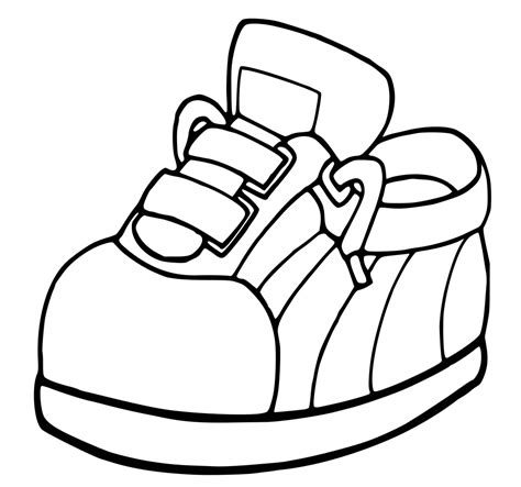 Coloring Shoes by Shoes Coloring Pages Getcoloringpages