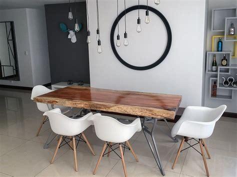 madera  metal la infalible combinacion de arza mesa de
