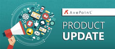 release update citizen services  avepoint blog