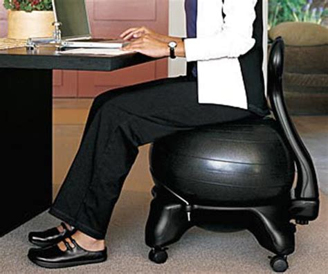 balance chair the green