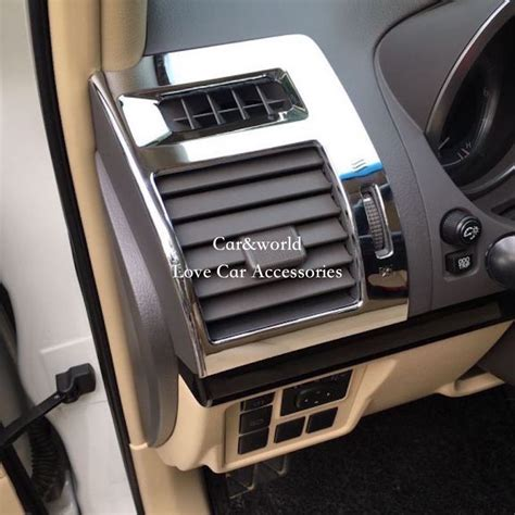 auto air conditioning repair 2010 toyota land cruiser navigation system for 2010 2017 toyota land cruiser prado fj150 150 air conditioning vent outlet cover front