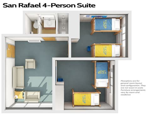 Cal Poly Room Floor Plans by San Rafael Conferences Hospitality Services