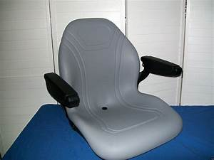 New Gray Seat For Case Ih Compact Tractors Dx25  Dx26  Dx29  Dx35  Dx40  Dx45  Lp
