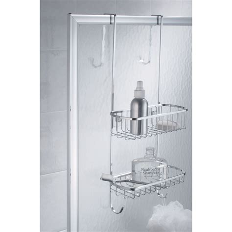 lifestyle home the door bath organizer the door shower caddy from sporty s tool shop