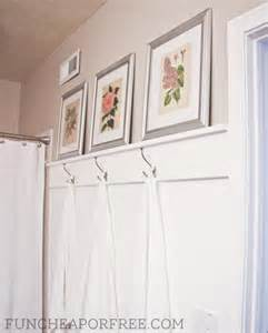 organizing ideas for bathrooms diy easy bathroom moulding for towel hooks cheap or free