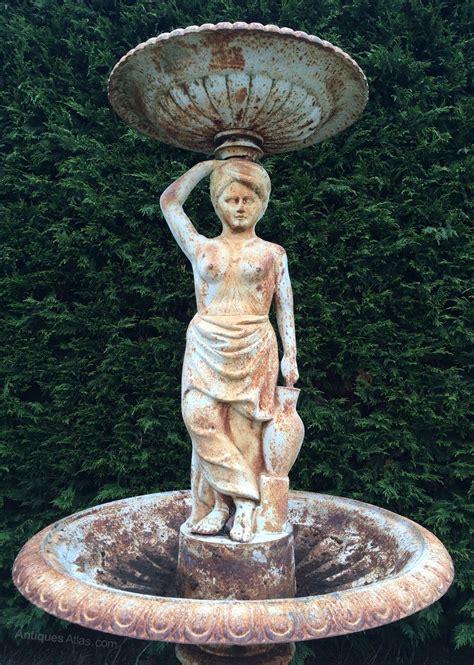 Antiques Atlas - Large Antique Cast Iron Fountain