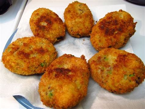 fried potato croquettes monastery products  mount