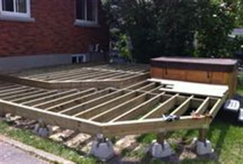 Free Standing Deck Framing by Free Standing Deck Ideas