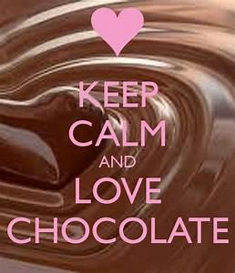 I Love Chocolate Wallpaper | www.imgkid.com - The Image ...