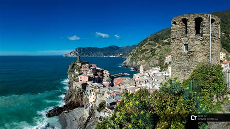 Vernazza View Of The Bay