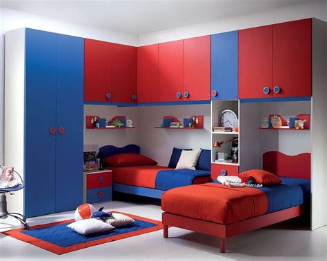 Kids Bedroom Furniture Sets For Boys Light Wood Study Desk