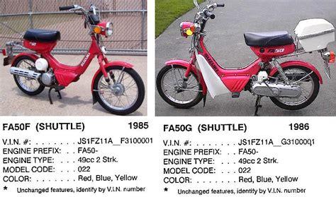 Suzuki Fa50 For Sale by Suzuki 171 Myrons Mopeds