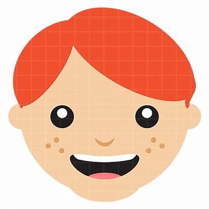 Clipart Face Clip Boy Head Kid Cliparts
