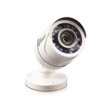 interior home surveillance cameras shop swann power source interior exterior simulated security camera at lowes com