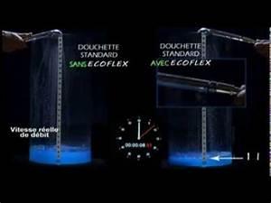 Douchette Économiseur D Eau : economiseur d 39 eau pour la douche l 39 ecoflex plus besoin de changer la douchette youtube ~ Mglfilm.com Idées de Décoration