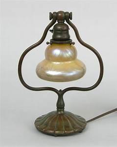 tiffany studios harp lamp 030609 With tiffany harp floor lamp
