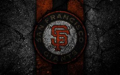 Giants San Francisco 4k Wallpapers Baseball Mlb