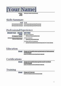 printable resume template learnhowtoloseweightnet With free resume templates to download and print
