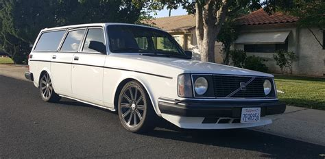 Daily Turismo: Thorsday Restomod: 1975 Volvo 245 Turbo Wagon