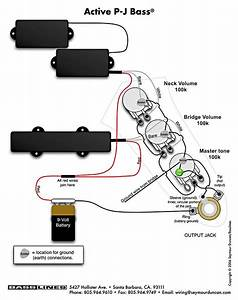 Emg Active Bass Pickup Wiring Diagram