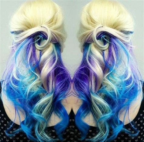 Best 25 Blonde And Blue Hair Ideas On Pinterest