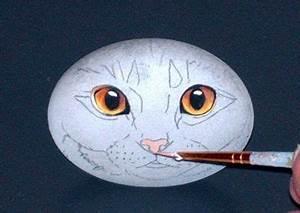 Steine Bemalen Katze : pin von paples firestone auf steine steine bemalen malen und steine ~ Watch28wear.com Haus und Dekorationen