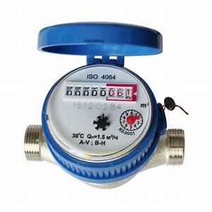 15mm 1  2 Inch Cold Water Meter For Garden  U0026 Home Using