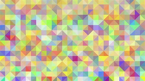 abstract background loop of triangles in a geometric