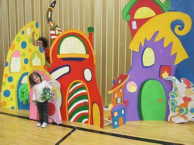 Grinch Backdrop by Grinch Who Ville Town Photo Backdrop The Delatore