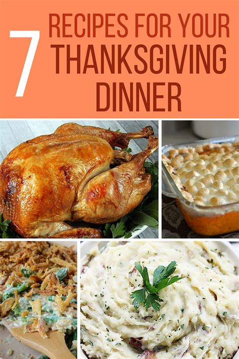 thanksgiving dinner recipes 7 recipes for thanksgiving dinner the crafty blog stalker