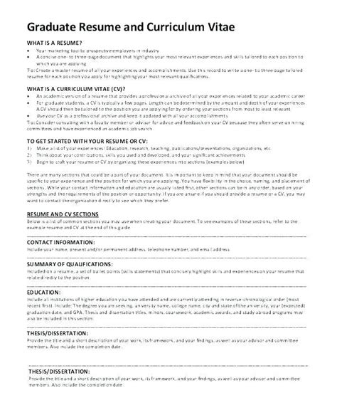 great cv template masters application ideas examples