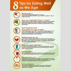 8 Tips For Eating Well As We Age Visually
