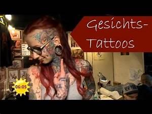 Tattoos Die Sich Ergänzen : t towierung extrem das gesichts tattoo sat 1 fr hst cksfernsehen youtube ~ Frokenaadalensverden.com Haus und Dekorationen