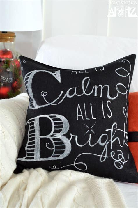 cute easy diy christmas pillows