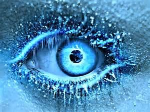 Winter Ice Blue Eye