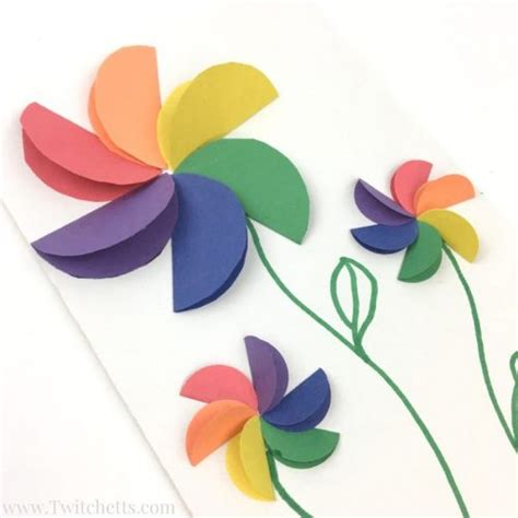 601 best arts crafts diy images on how to make easy rainbow paper flowers for twitchetts 601 b