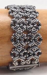 Beading Tutorial For Flatiron Bracelet  Jewelry Pattern