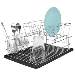 shop farberware classic compact dish rack black  shipping  orders   overstock