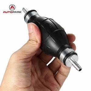 Rubber Fuel Pump Hand Primer Bulb Portable Diesel Gasoline
