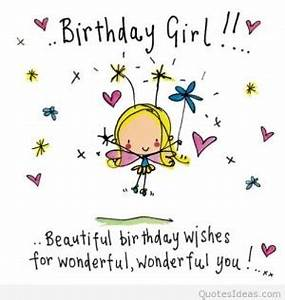 Happy Birthday Quotes To Girls. QuotesGram