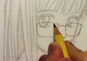 How to Draw Anime Eyes with Glasses