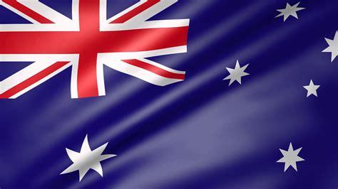 australia flag colors animated flag of australia